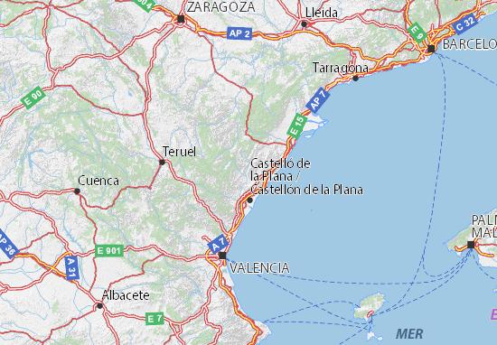 Carte-Plan Castellón