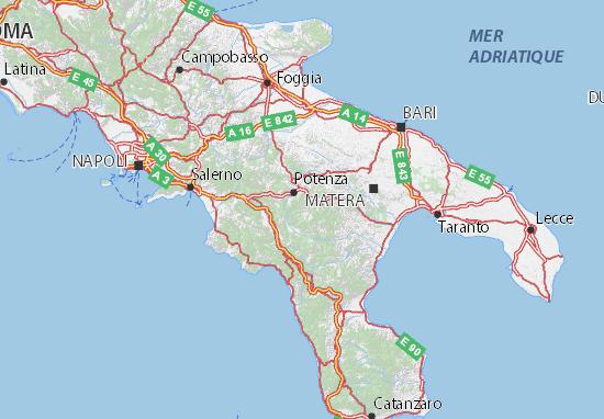 Mappe-Piantine Potenza