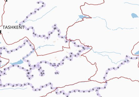Mapa Plano Andijon