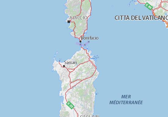 Cartina Sardegna Vicino Olbia.Mappa Michelin Olbia Tempio Pinatina Di Olbia Tempio Viamichelin