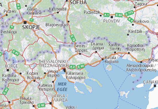 flughäfen griechenland karte