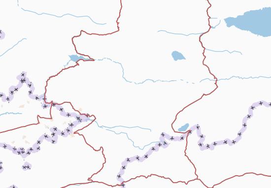Mapas-Planos Kyrgyzstan