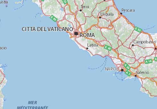 Cartina Fisica Dell Italia Centrale.Mappa Michelin Italia Viamichelin