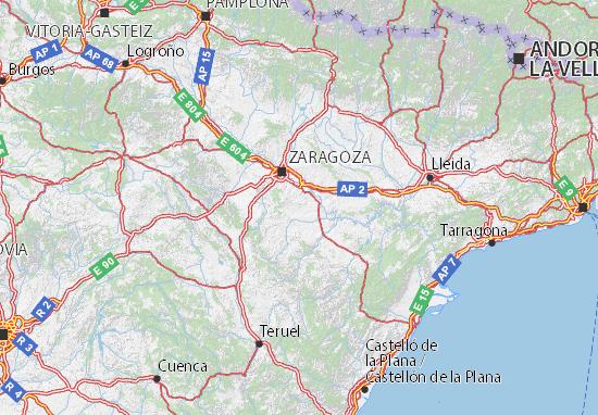 Carte-Plan Aragón
