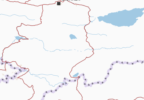 Mapa Plano Naryn