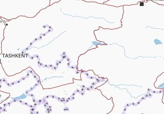Jalal-Abad Map