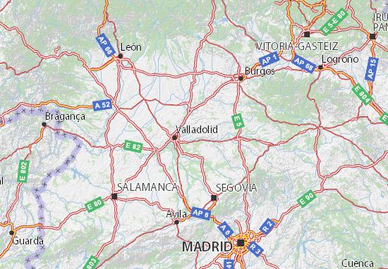 Mapas-Planos Castilla y León