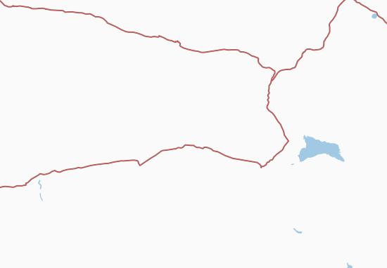 Kaart Plattegrond Xinjiang