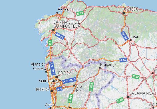 Mapas-Planos Ourense