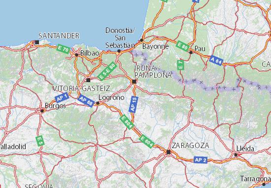 Mapas-Planos Navarra