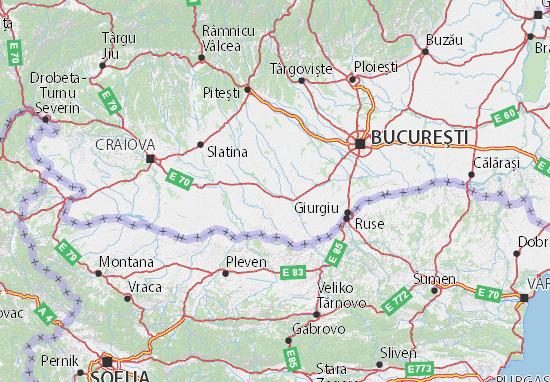 Mapa Plano Teleorman