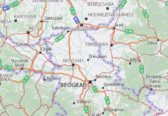 Mapas-Planos Vojvodina