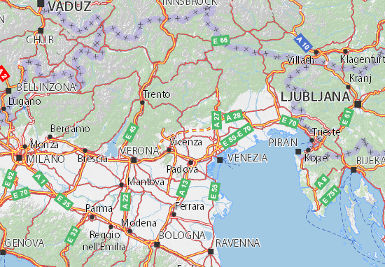 Veneto Map