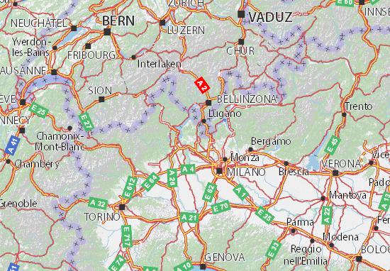 Mappe-Piantine Varese