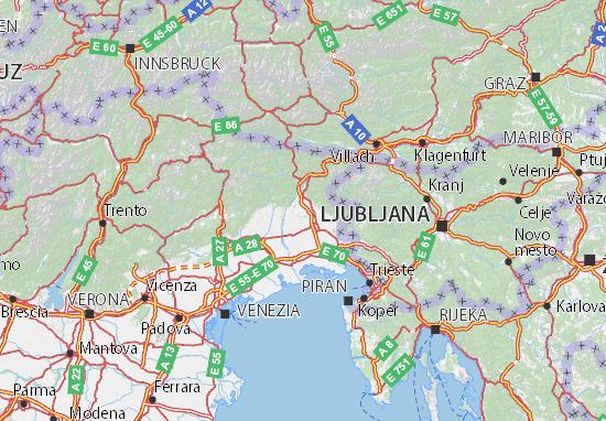Udine Map