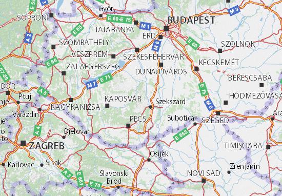 Mapas-Planos Tolna