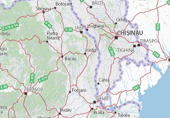 Vaslui Map
