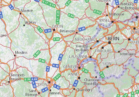 Jura Map