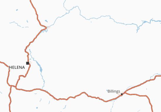Map of Montana - Michelin Montana map - ViaMichelin