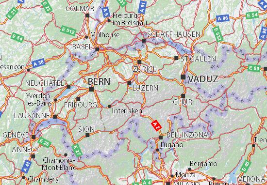Mappe-Piantine Nidwalden