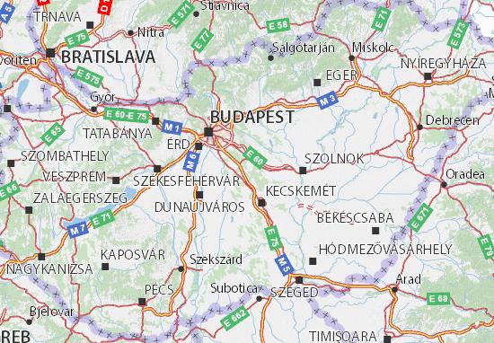 Mapas-Planos Magyarország