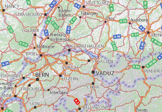 Karte Stadtplan Thurgau