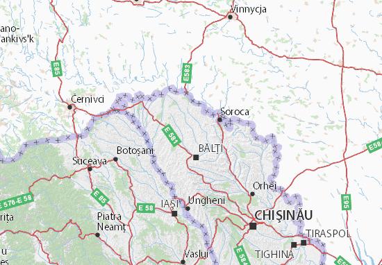 Drochia Map
