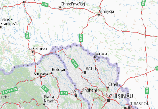Donduşeni Map