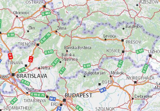 Mapas-Planos Slovensko