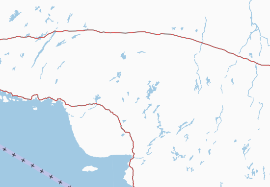Karte Stadtplan Ontario