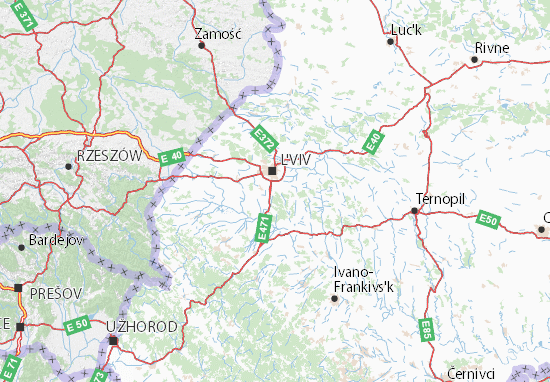 Mapas-Planos L'vivs'ka oblast