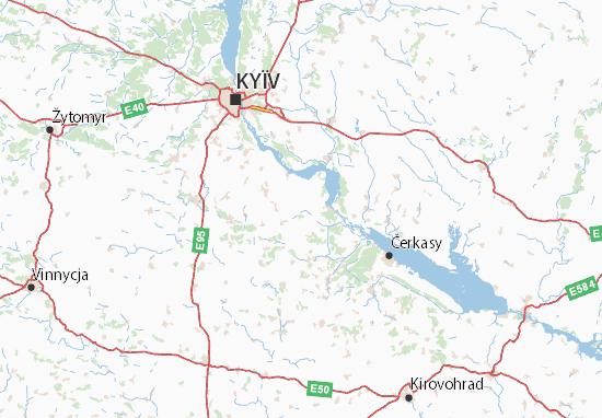 Mapa Plano Ukraïna
