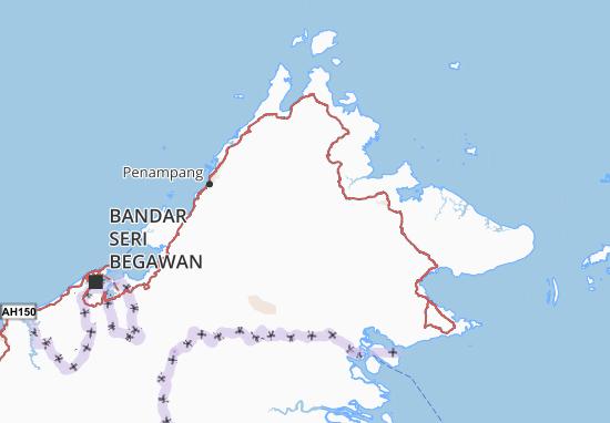 Kaart Plattegrond Sabah