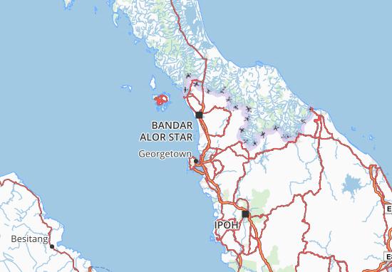 Kedah Map