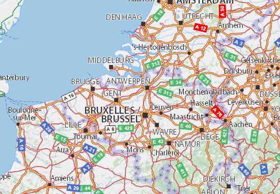 Vlaams Gewest Map