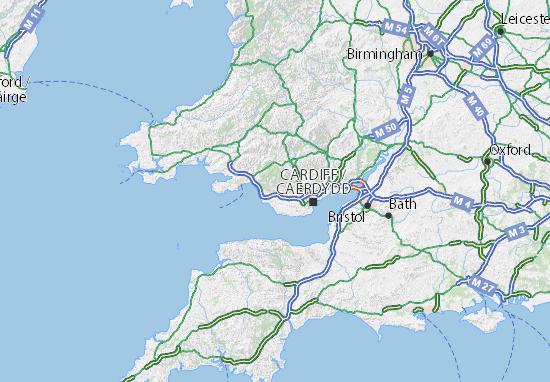 Mappe-Piantine Bridgend