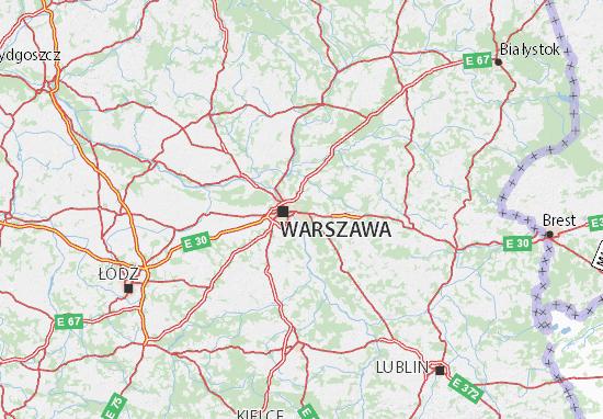 Carte-Plan Mazowieckie