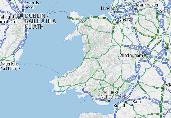 Wales Map: Detailed maps for the city of Wales - ViaMichelin