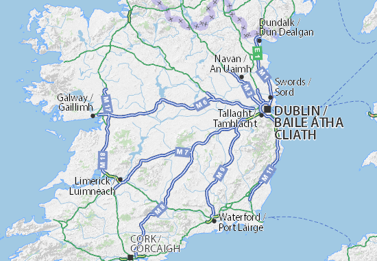 Offaly Map