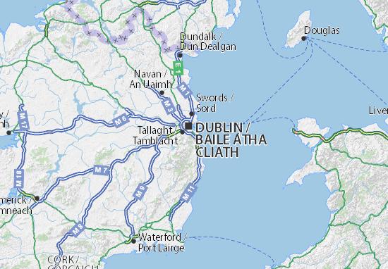 Dún Laoghaire-Rathdown Map