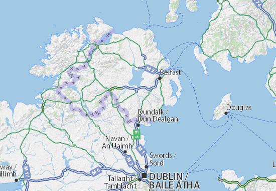 Armagh, Banbridge and Craigavon Map