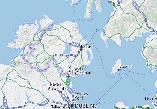 Lisburn and Castlereagh Map