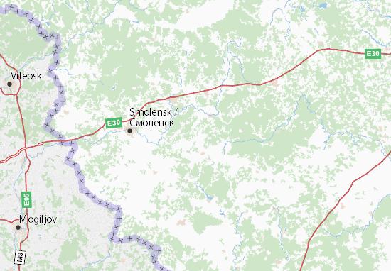 Carte-Plan Smolenskaja oblast'