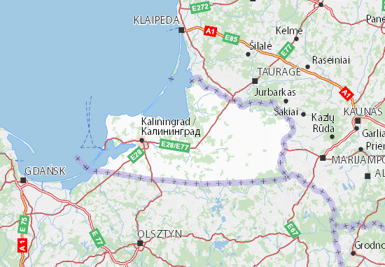 Map of Kaliningradskaja oblast' - Michelin Kaliningradskaja oblast Kaliningrad Map on yamal peninsula map, nizhny novgorod map, kiev map, estonia map, crimean peninsula map, edinburgh map, konigsberg map, krasnodar map, east prussia, caspian sea map, corsica map, kuril islands map, russian plain map, rotterdam map, dagestan map, nizhny novgorod, siberia map, crimea map, aral sea map, kamchatka peninsula map, kazakhstan map, saint petersburg, balkan peninsula map,