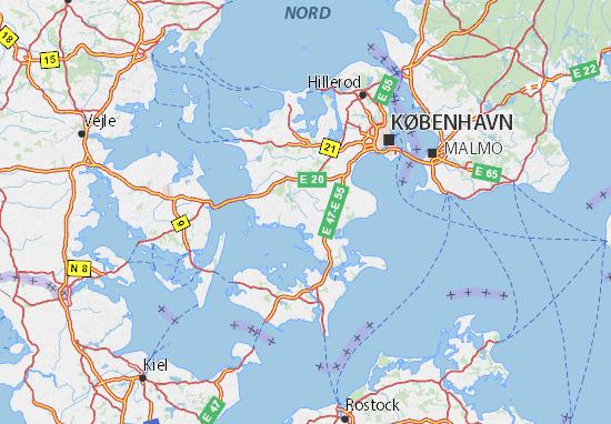 Carte-Plan Sjælland