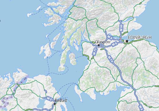 Carte-Plan North Ayrshire