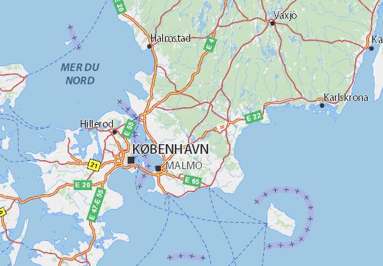 Carte-Plan Skåne län