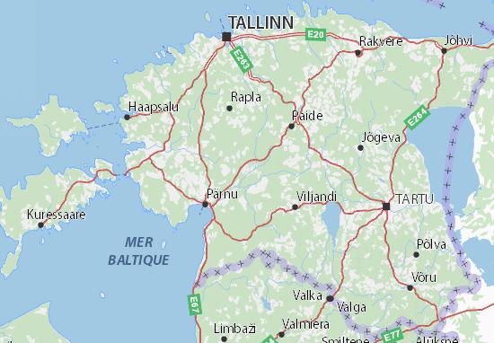 Mappe-Piantine Eesti