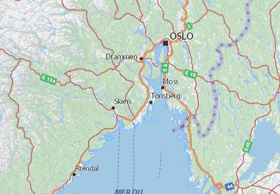 Carte-Plan Vestfold