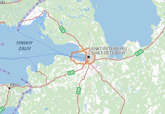 Mapas-Planos Gorod Sankt-Peterburg